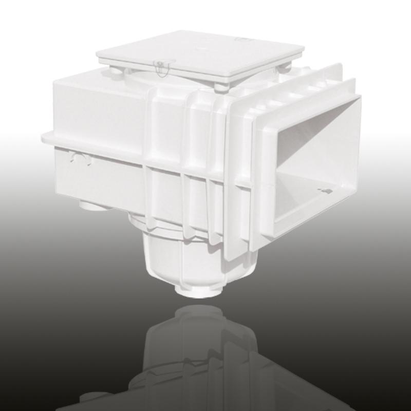 V20 Skimmer für Betonbecken Signalweiß Image