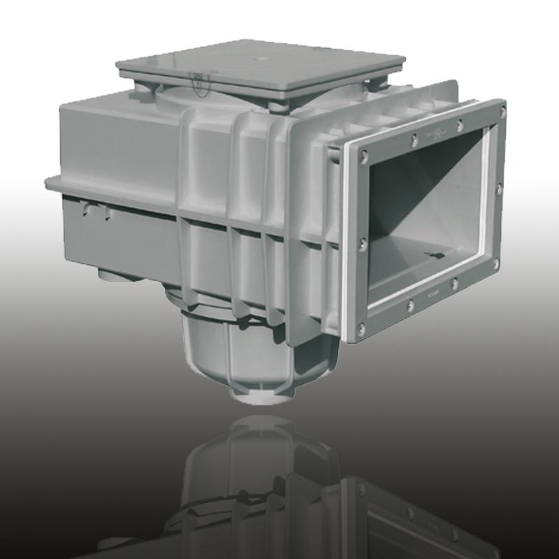 V20 Skimmer für Folien- und vorgefertigte Becken Edelgrau Image